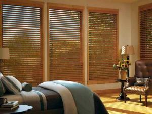 Parkland™ Reflections® wood blinds